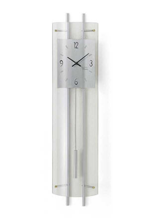 AMS 7025 Quartz Wandklok met Slinger glas