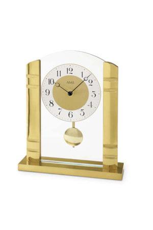 AMS 1117 goud tafelklok