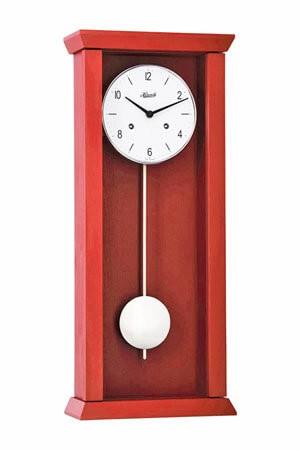Hermle 71002-360141 rood Wandklok regulateur