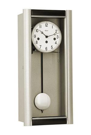 Hermle 71003-L10341 Wandklok regulateur zilver