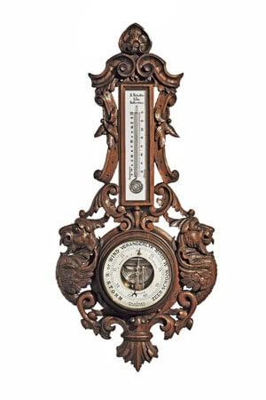 Antieke Barometer Reballio