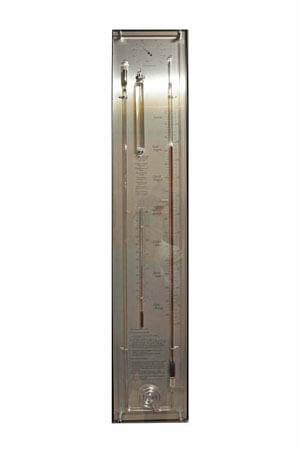 Barometer aluminium