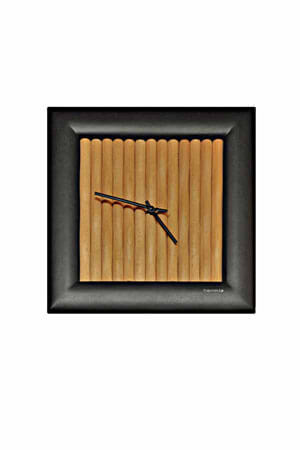 Hermle 30468 Quartz Wandklok hout