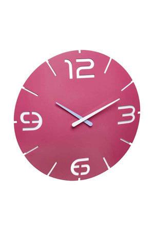 TFA 60.3047.12 Quartz Wandklok roze